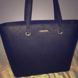 Black Calvin Klein bag